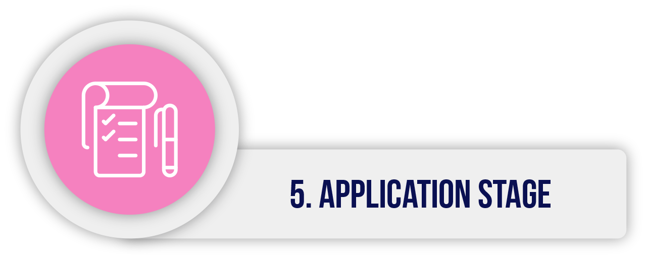 5. Application stage