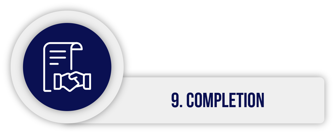 9. Completion
