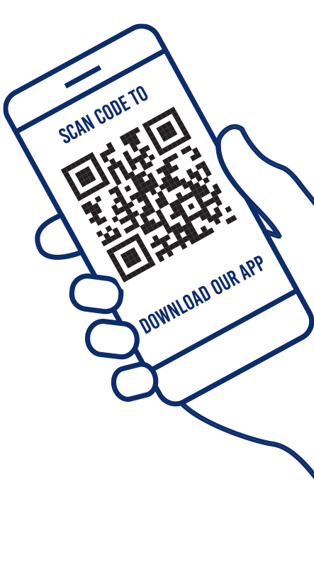 SCAN CODE TO DOWNLOAD OUR APP